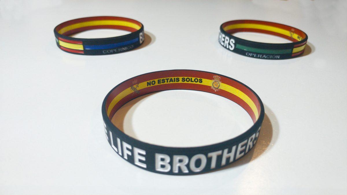 PULSERAS COPERNICO Blue Life Brothers reversibles