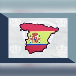 Parche silueta España pvc