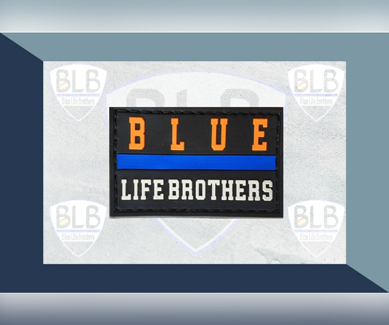 Parche Blue O de PVC de Blue Life Brothers.