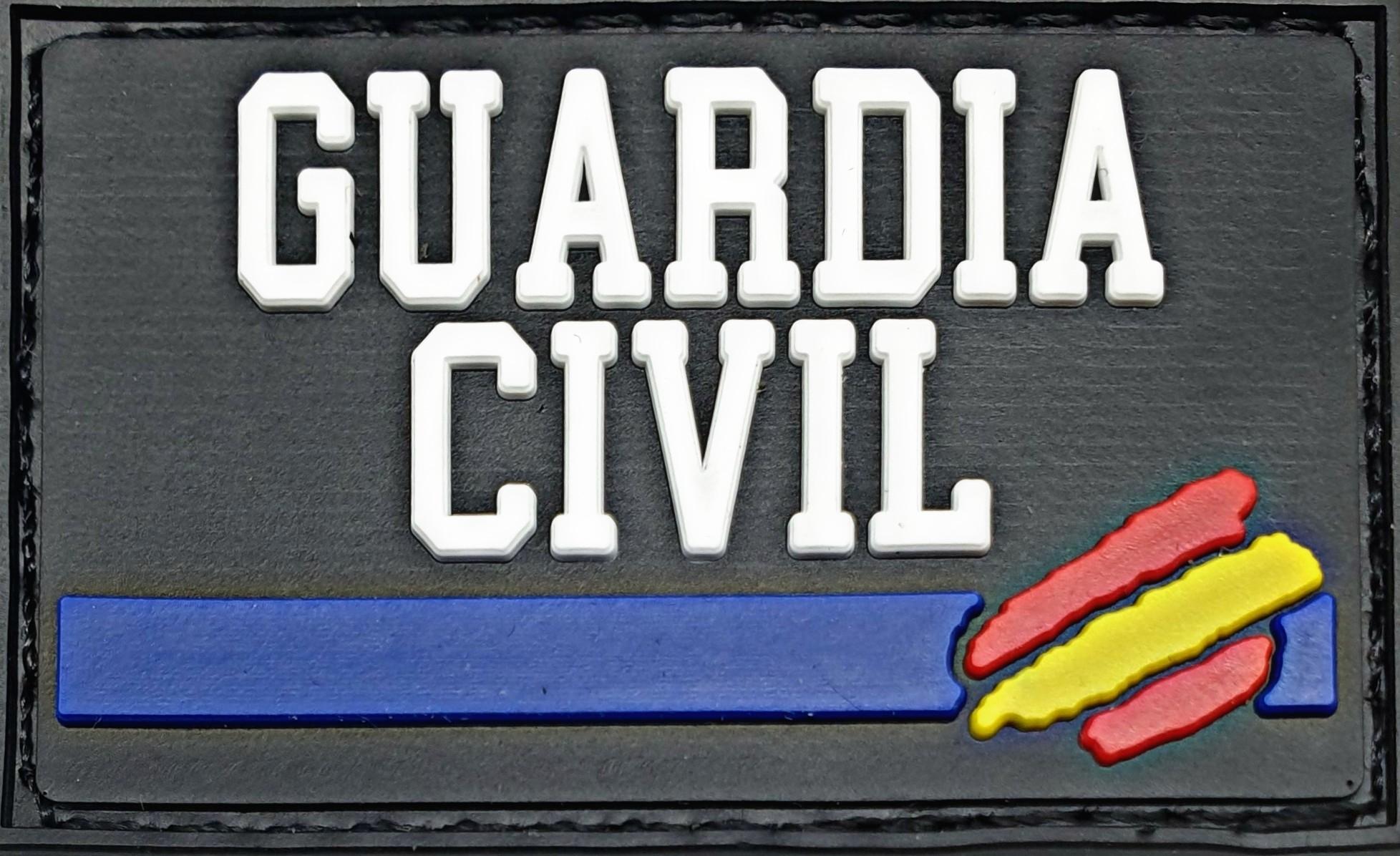 Parche Guardia Civil con línea azul