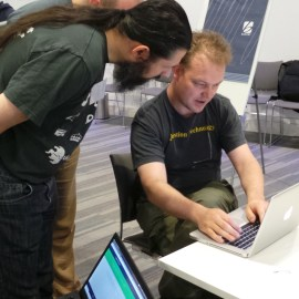 What happened at the Hackathon?