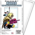 Ruled Comic Book Art Boards