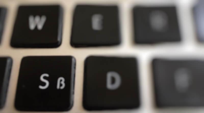 klávesa ß