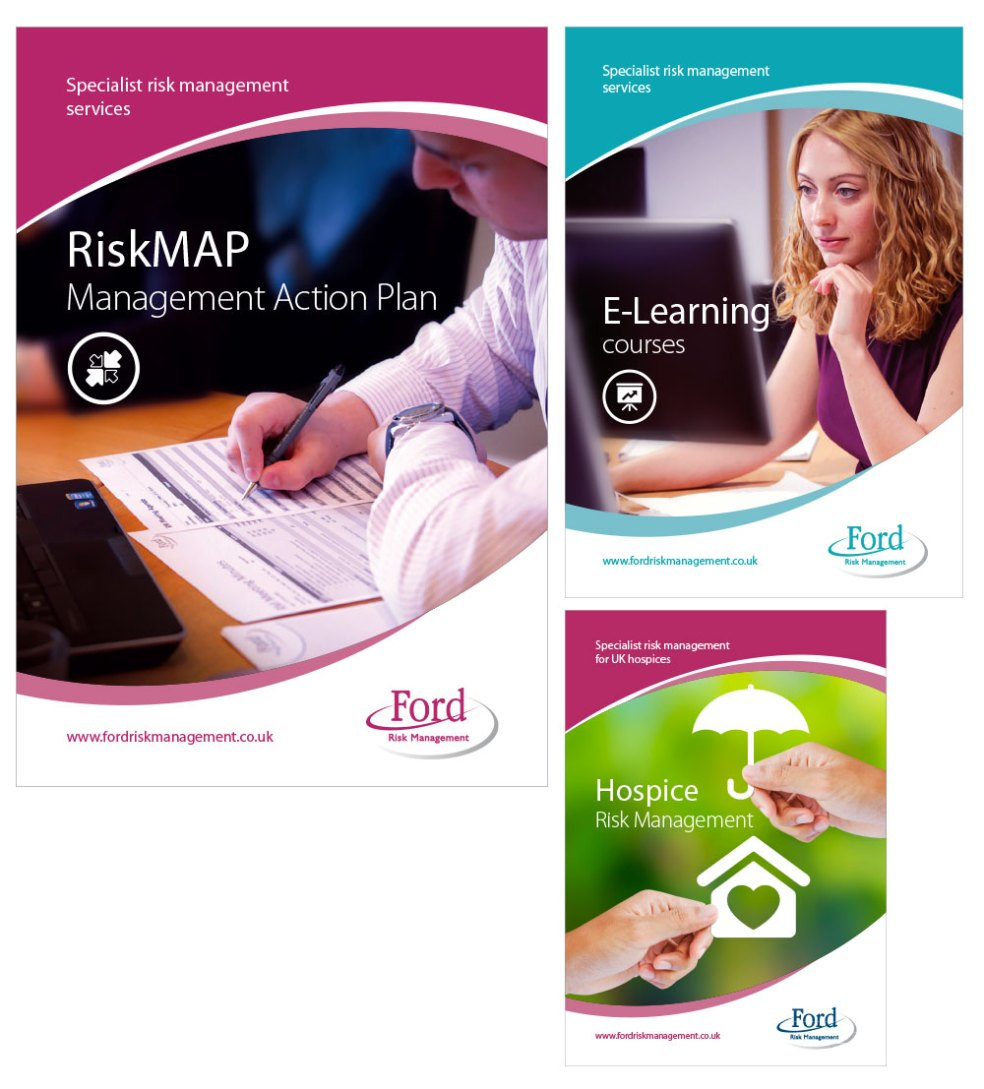 D E Ford services leaflets