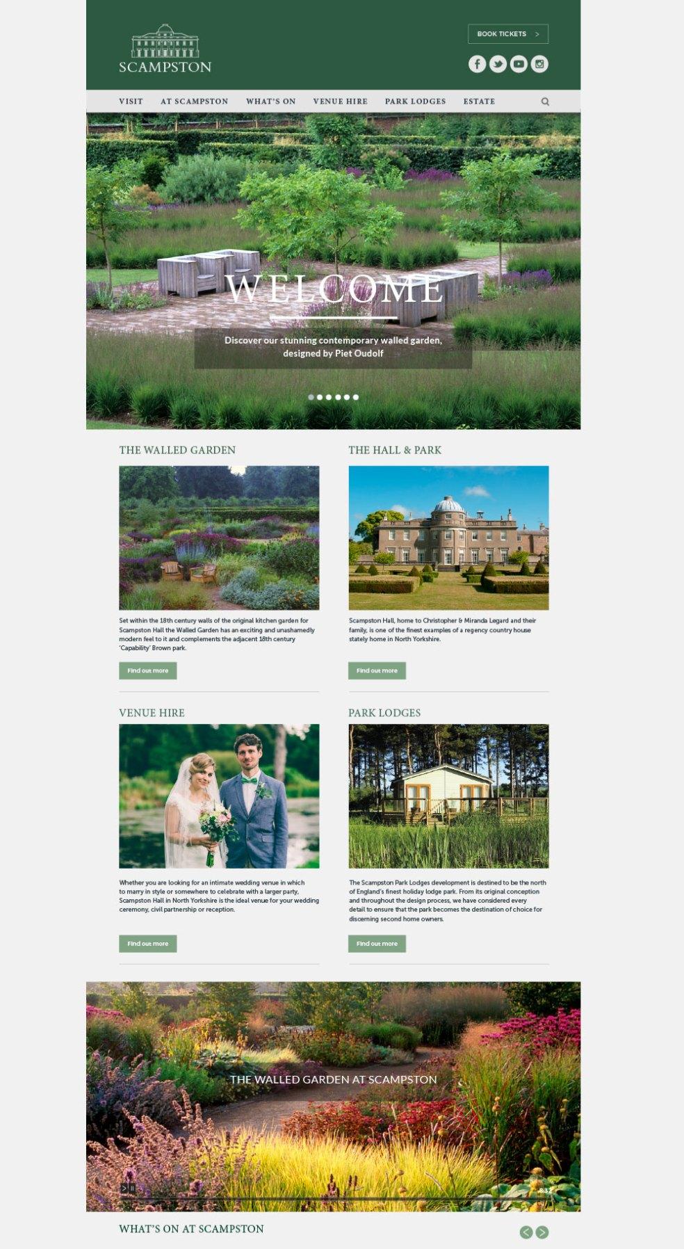 Scampston website