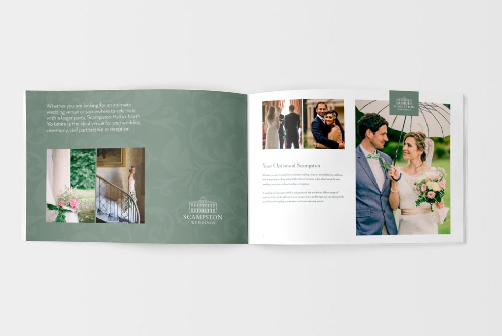 Scampston wedding brochure