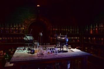 A potions classroom