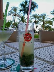 The most expensive cocktail in Cuba - 5€ (Hotel Nacional)