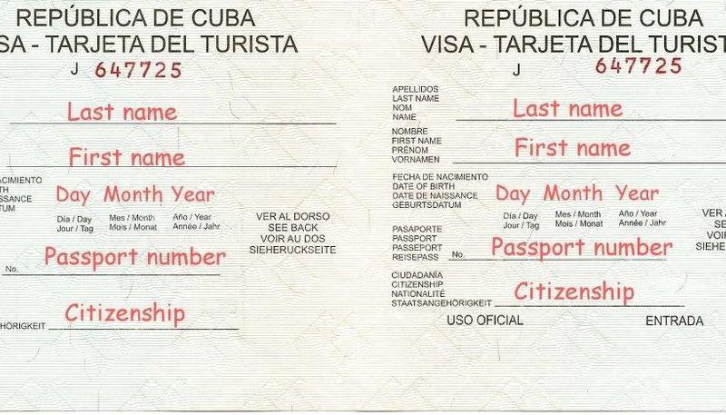 Viza Kuba