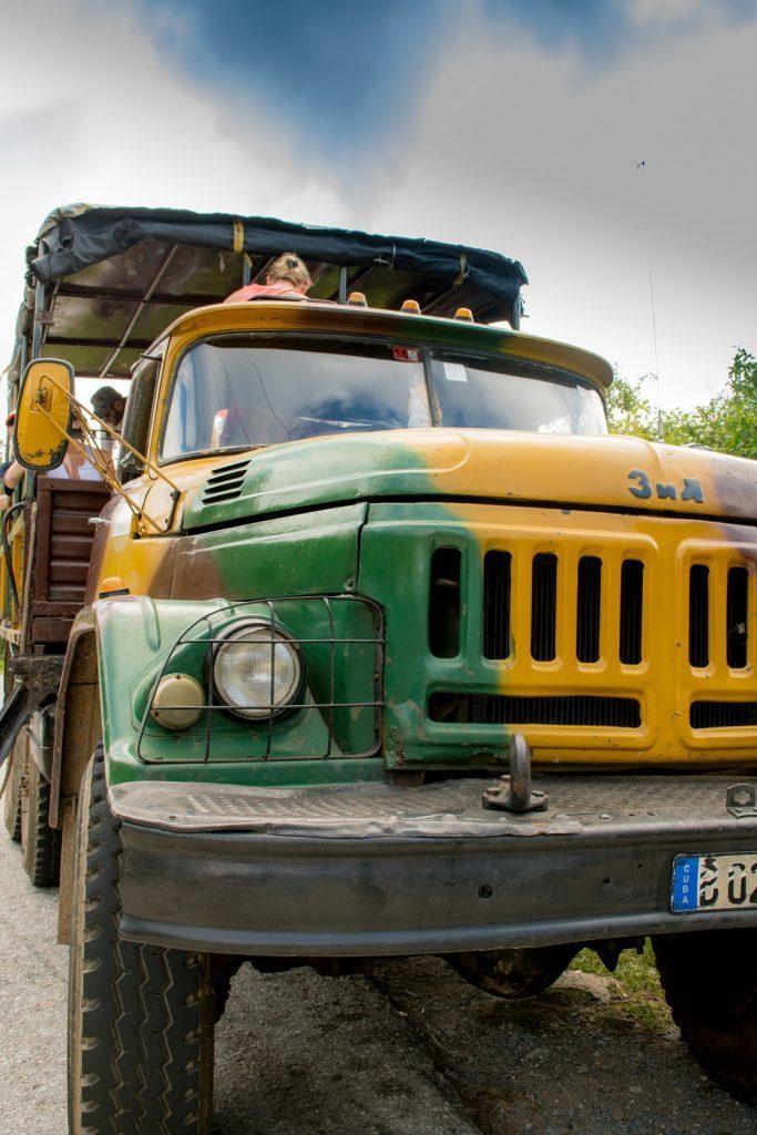 Tudi takole lahko izgleda taxi :)