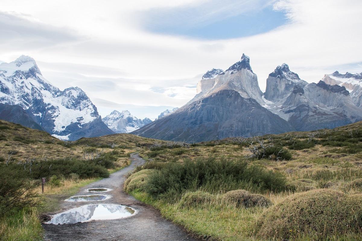 Torres del Paine jeseni
