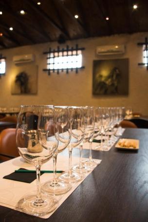 Vinska degustacija v vinarni Viu Manent