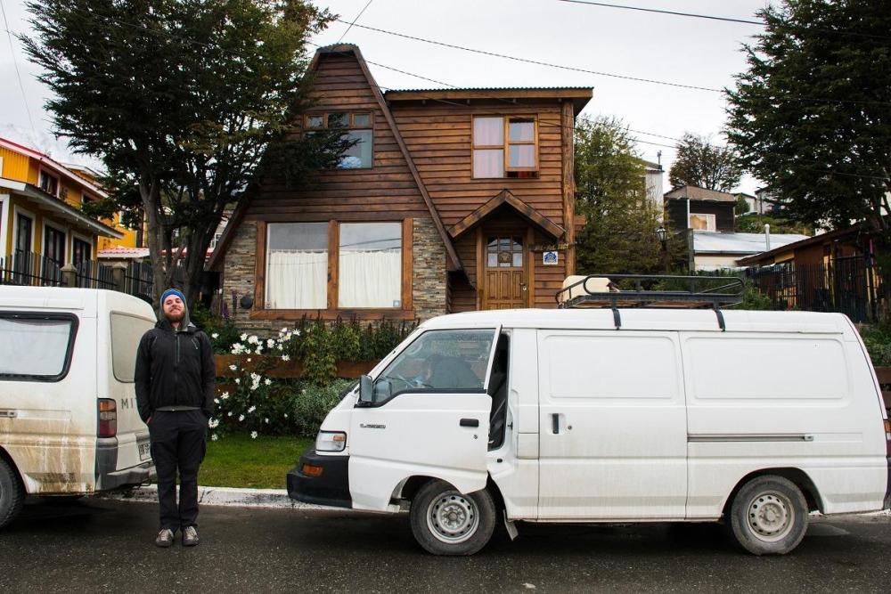 Stroški potovanja za Argentino - koča kot nastanitev