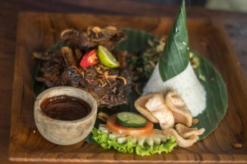 Indonezijska jed v Balinese Home Cooking (Kje jesti v Ubudu)