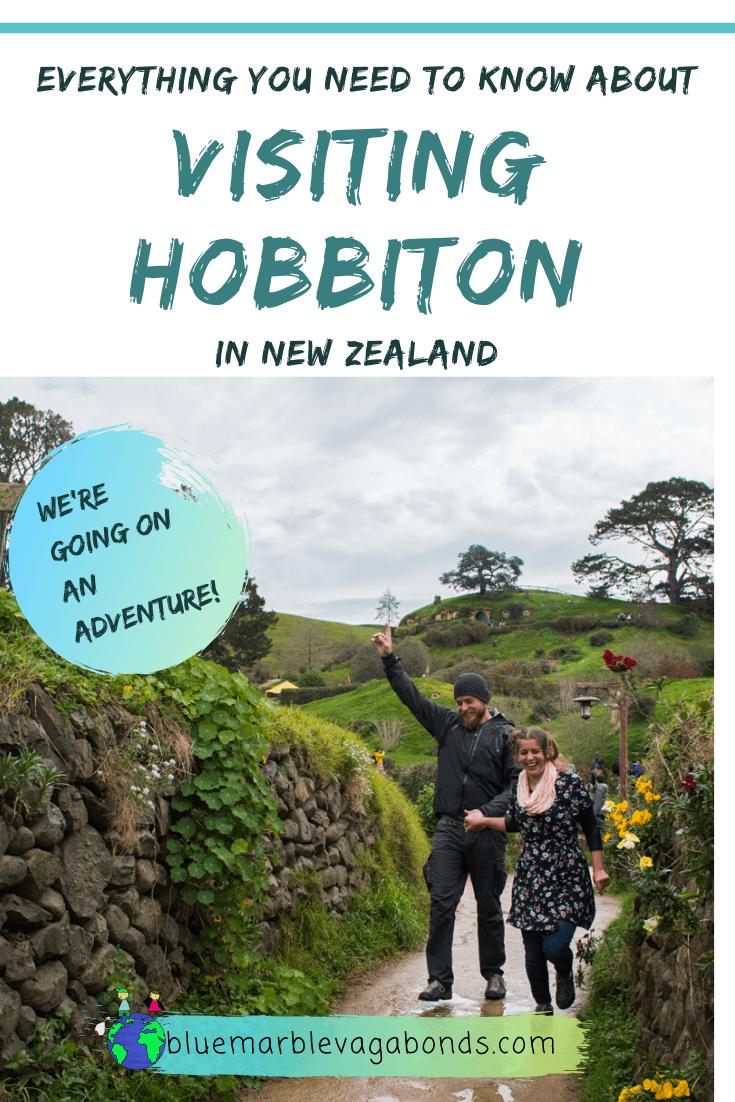 Visiting Hobbiton - pinterest graphic 1