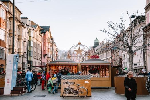 Božični sejem v Innsbrucku: Maria-Teresien Strasse
