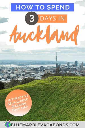 How to spend 3 days in Auckland - pin