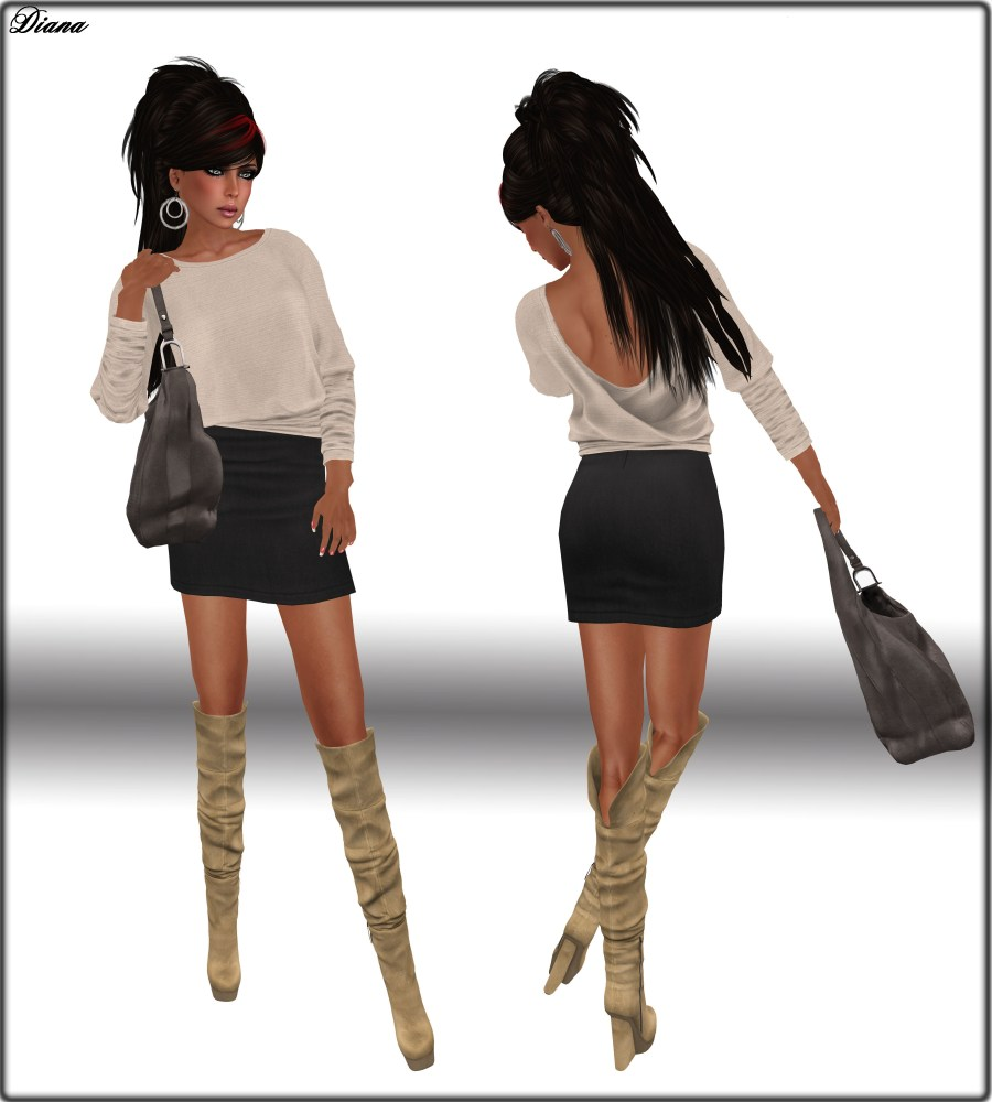 Diana and New*Maitreya*Clothes and Boots (4/5)