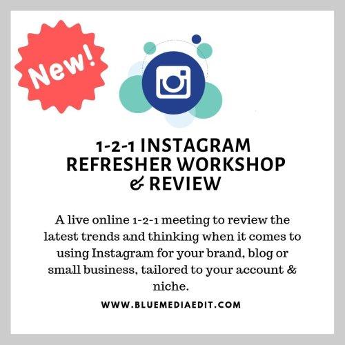 1-2-1 Instagram Workshop