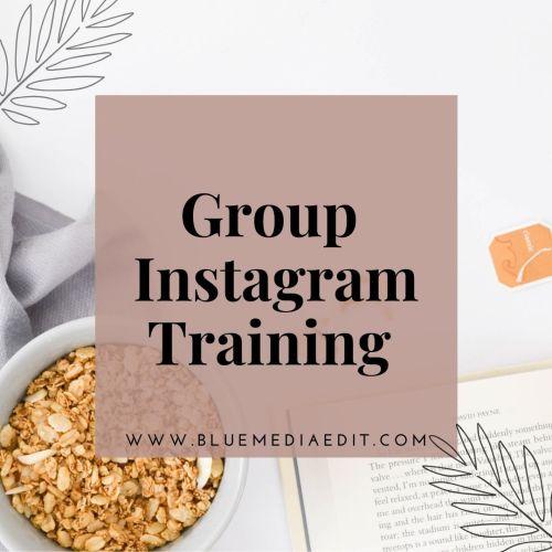 Group Instagram Training
