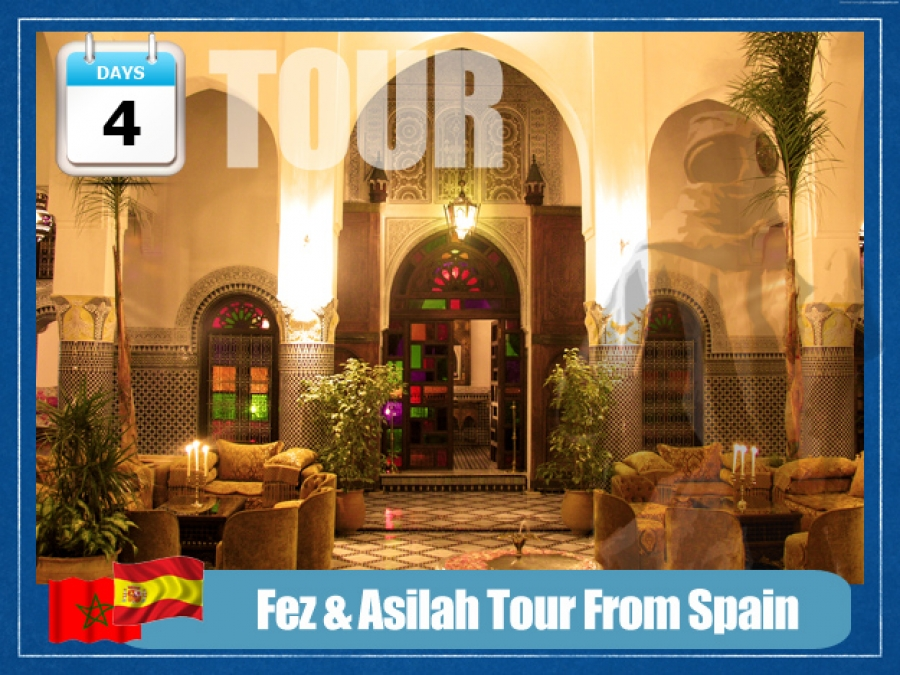 Fez and Asilah Tour From Spain