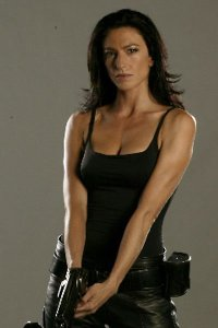 Claudia Black as Aeryn Sun.