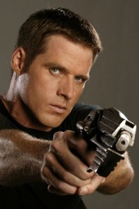 Ben Browder as John Chrichton.