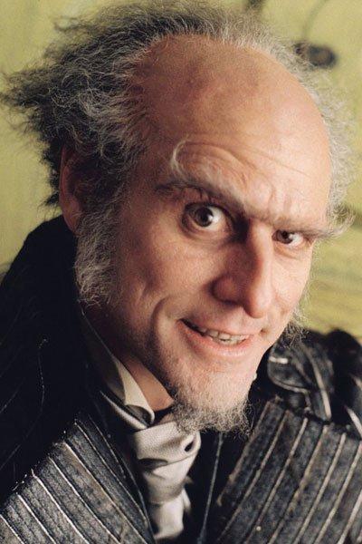 Jim Carey as Count Olaf