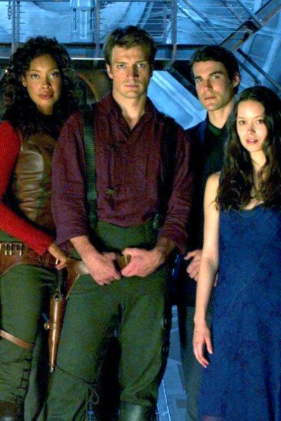 Some of the Firefly's crew and passengers.