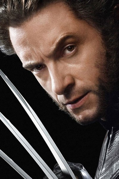 Hugh Jackman as Logan / Wolverine.