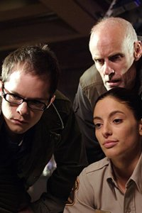 Neil Grayston as Douglas Fargo, Matt Frewer as Jim Taggart and Erica Cera as Jo Lupo.