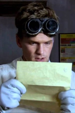 Neil Patrick Harris as Dr Horrible reading a letter from Bad Horse.
