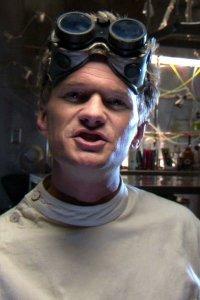 Neil Patrick Harris as Dr Horrible.