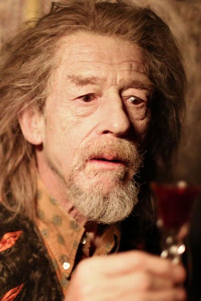 John Hurt as Marlowe.