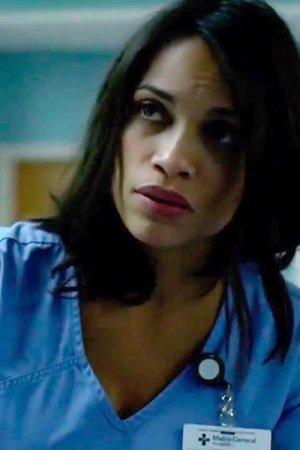Rosario Dawson as Claire Temple.