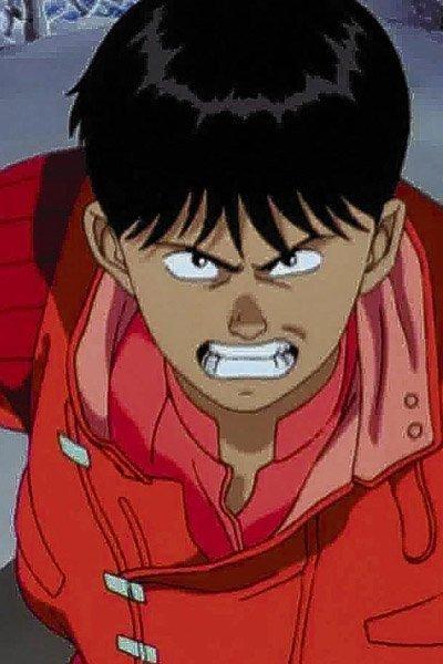 Angry Kaneda from Akira.