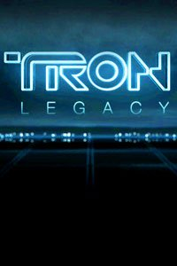 The Tron Legacy title card.