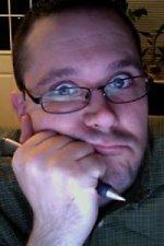 The ghastly visage of Jeremy McHugh.
