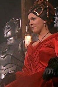 Dervla Kirwan as Miss Hartigan in the Doctor Who Christmas episode