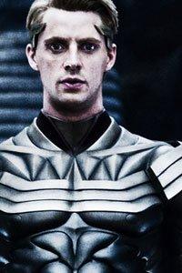 Matthew Goode as Ozymandias.