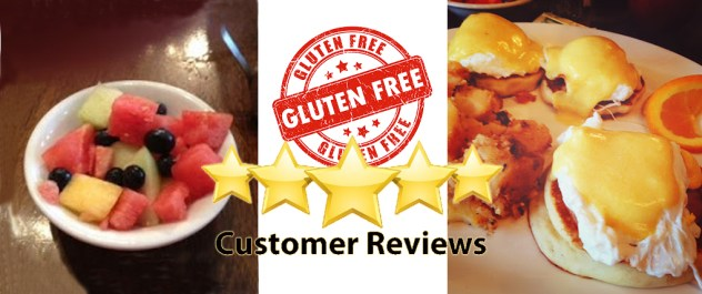 Gluten Free Me Boston Review of Blue Moon Grill Wakefield MA