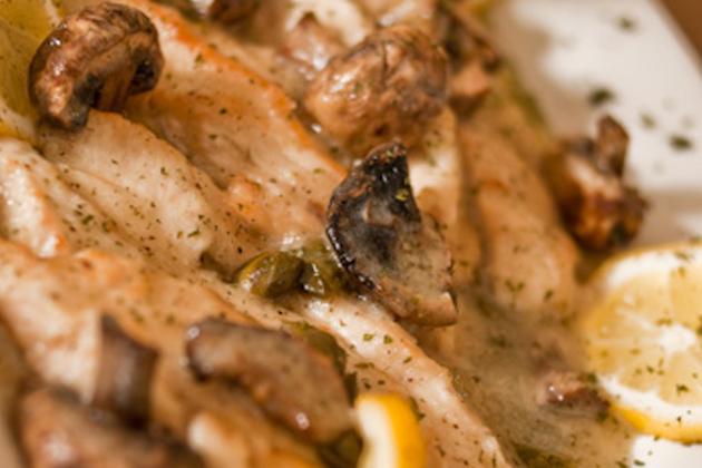 Chicken Piccata- Blue Moon Grill Wakefield MA