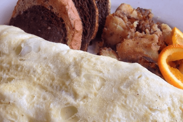 Greek Omelette with Egg Whites - Blue Moon Grill Wakefield via Yelp by Richard W.