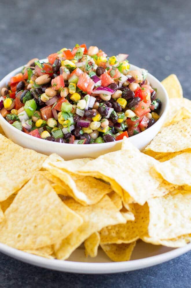 Super Bowl Snack Ideas - Cowboy Caviar
