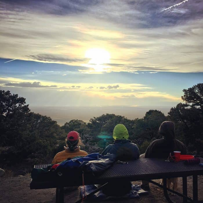 Camping at Zapata Falls, Colorado