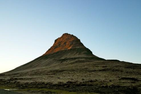 Grundarfjordur hill - sunset