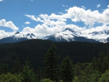 Views from the drive back to Vancouver