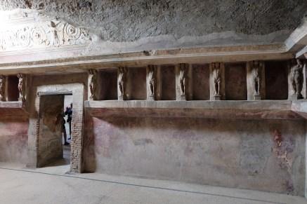 Forum baths at Pompeii