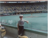 At my first Expos game