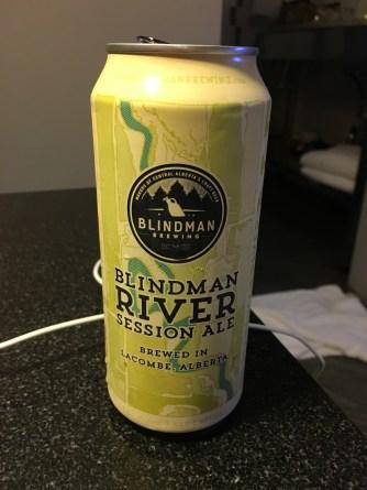 Blindman River session ale